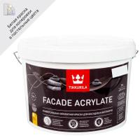 Краска фасадная Facade Acrylate 9 л цвет белый