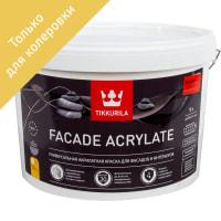 Краска для колеровки фасадная Facade Acrylate 9 л цвет прозрачный
