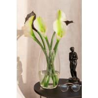 Ваза «Лагиза», стекло, цвет прозрачный