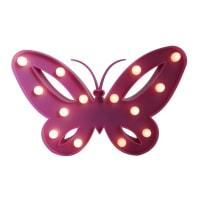 Ночник светодиодный детский «Бабочка» на батарейках, с выключателем
