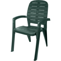 Кресло садовое «Прованс», цвет тёмно-зелёный