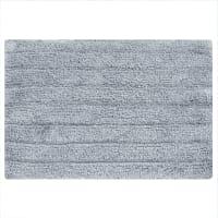 Коврик для ванной комнаты Essential 60x40 см цвет тёмно-серый