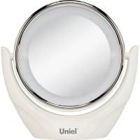 Зеркало косметическое Uniel TLD-592 настольное 19 см