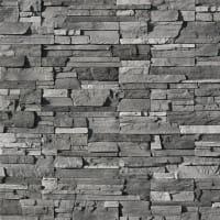 Плитка декоративная Фьорд Лэнд, цвет чёрно-серый, 0.8 м²