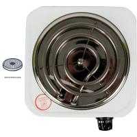 Плитка электрическая настольная ORE СВ30, 21 см, цвет белый