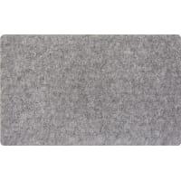 Коврик Флорт «Офис», 49x80 см, полипропилен, цвет серый