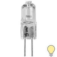 Лампа галогеновая GY6.35 12 В 35 Вт туба прозрачная 300 лм белый свет