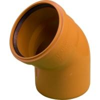 Отвод наружный 45° 160 мм