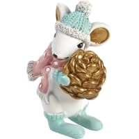 Фигурка «Мышка с шишкой» 8 см