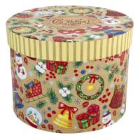 Коробка подарочная «С Новым Годом» 18x14 см
