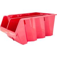Лоток Volf 21.5х33х15.5 см, пластик, цвет красный
