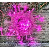 Электрогирлянда светодиодная для дома 50 ламп