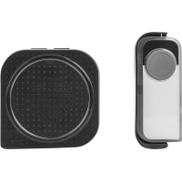 Звонок беспроводной Lexman 3 В, 7 мелодий, цвет черный
