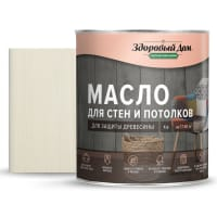 Масло для стен и потолков цвет белый 1 л