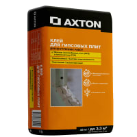 Клей для изделий из гипса Axton 25 кг