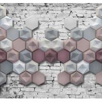 Фотообои 3D Flizart «Стереометрия», флизелиновые, 300x280 см