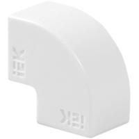 Угол 90 градусов IEK КМП 12/12 мм цвет белый 4 шт.