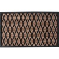 Коврик Porto 1049 45x75 см, резина, цвет коричневый