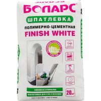 Шпаклевка полимерно-цементная Finish White 20 кг
