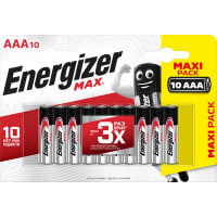 Батарейка алкалиновая Energizer Max Power AAA
