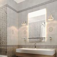 Плитка настенная «Дора» 20x30 см 1,44 м² цвет светло-серый