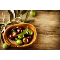 Картина на холсте «Оливки-маслины» 40х50 см