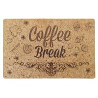 Салфетка сервировочная Coffee Break с пробковой подложкой 44x28.5 см