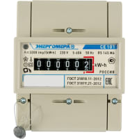 Счётчик электроэнергии CE101 R5 145 M6, однофазный
