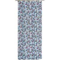 Штора на ленте «Кеды» 145х260 см цвет серый