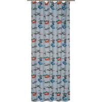 Штора на ленте «Гонки» 145х260 см цвет серый