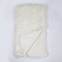 Плед Sally 130x160 см искусственный мех цвет кремовый