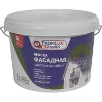 Краска фасадная Profilux 4 кг цвет белый