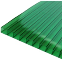 Поликарбонат сотовый 3000х2100х3,5 мм зеленый