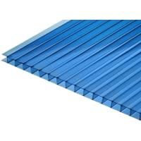 Поликарбонат сотовый 3000х2100х6 мм синий