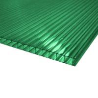 Поликарбонат сотовый 3000х2100х6 мм зеленый