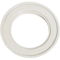 Кольцо крепёжное Oxion для патрона Е27 цвет белый