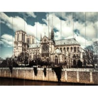 Картина на досках «Нотр-Дам» 60x80 см