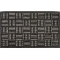 Коврик Porto Parquet 45x75 см, цвет тёмно-серый