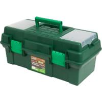 """Ящик для инструмента Дельта 19"""", пластик, цвет зелёный"""