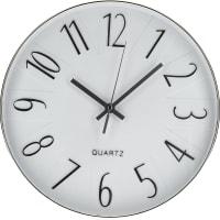 Часы настенные «Белый агат» 30 см