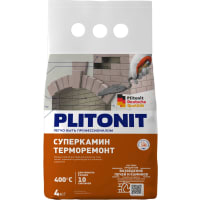 Плитонит СуперКамин ТермоРемонт 4 кг
