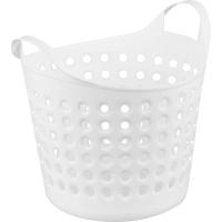 Корзина для хранения Soft, 274x295x327 мм, 10 л, пластик, цвет белый