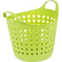 Корзина для хранения Soft, 274x295x327 мм, 10 л, пластик, цвет зелёный