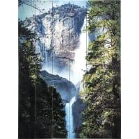 Картина на досках «Водопад» 60х80 см