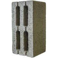 Блок керамзитобетонный м35 390х190х188 мм