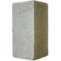 Блок керамзитобетонный полнотелый м100 390х190х188 мм