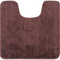 Коврик для туалета Presto 45x45 см цвет коричневый