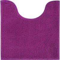 Коврик для туалета Merci 45x45 см цвет фиолетовый