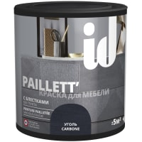Краска для мебели ID Paillett цвет уголь 0.5 л