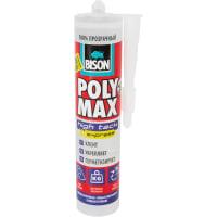 Клей-герметик Bison «Polymax Hightack» 300 г прозрачный